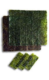 Algas laver crudas