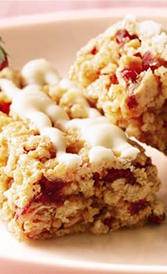 calorías de las barritas de cereales con frutas rojas