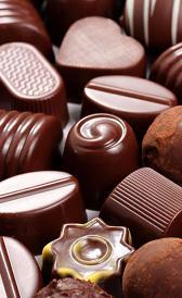 bombones, alimento rico en calcio y zinc