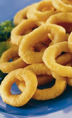 calamares a la romana congelados, alimento rico en fósforo y vitamina B2