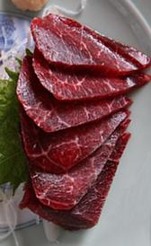 carne de ballena, alimento rico en vitamina B3 y hierro