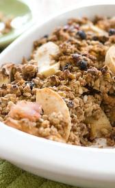 cereales de desayuno con base de avena integral tostada y miel, alimento rico en zinc