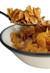 cereales de desayuno con base de trigo y miel, alimento rico en colesterol