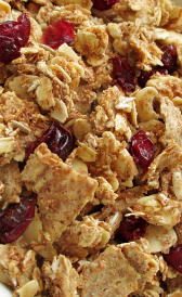 cereales de desayuno salvado de trigo completo, alimento rico en vitamina C y calorías