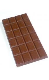 chocolate con leche, alimento rico en vitamina B7 y zinc