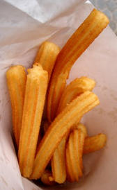 churros, alimento rico en purinas