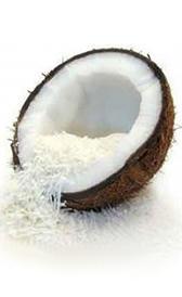 coco fresco, alimento preteneciente a la categoría de los frutas frescas