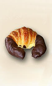 carbohidratos del croissant de chocolate