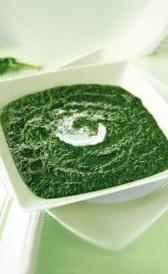 espinacas a la crema congeladas, alimento rico en vitamina K