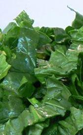 espinacas, alimento rico en fibra y vitamina B7
