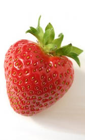 fresa , alimento rico en vitamina B7