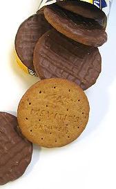 galletas digestive, alimento rico en hierro y calorías