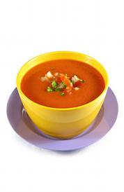 gazpacho en conserva, alimento rico en calorías