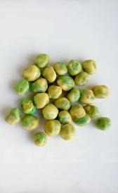 guisantes secos, alimento rico en potasio