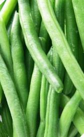 judías verdes congeladas, alimento rico en vitamina C y fibra