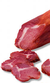 lomo embuchado, alimento rico en vitamina B12 y hierro