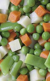 menestra congelada, alimento rico en vitamina A y vitamina K