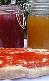 Mermelada de albaricoque y melocotón