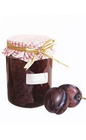 mermelada de ciruela, alimento rico en calorías y carbohidratos