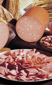 mortadela, alimento rico en vitamina B3 y sodio