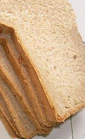 pan blanco tostado sin sal, alimento rico en hierro y carbohidratos
