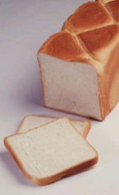 pan de molde, alimento rico en purinas