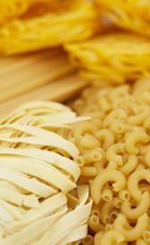 pasta, alimento preteneciente a la categoría de los pastas