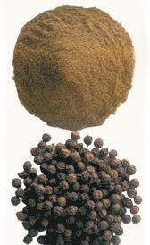 carbohidratos de la pimienta negra