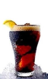 refresco de cola sin cafeína, alimento rico en potasio
