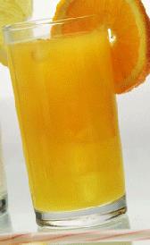 Refresco de naranja o naranjada