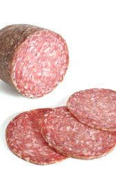 salami, alimento rico en fósforo y vitamina B7