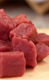 ternera magra, alimento rico en vitamina B5 y fósforo