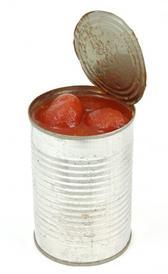 aminoácidos del tomate pelado enlatado