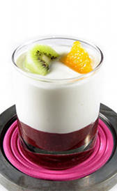 Yogurt con fruta entero