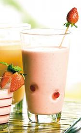 yogurt liquido de sabores, alimento preteneciente a la categoría de los yogures y leches fermentadas